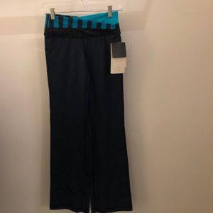 lululemon athletica Pants - Lululemon blue Astro Pant R, sz 4, NWT